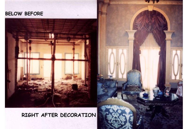 Before and After Design