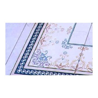 "Ceramic Floor Tile ""Corner Carpet 6002 """