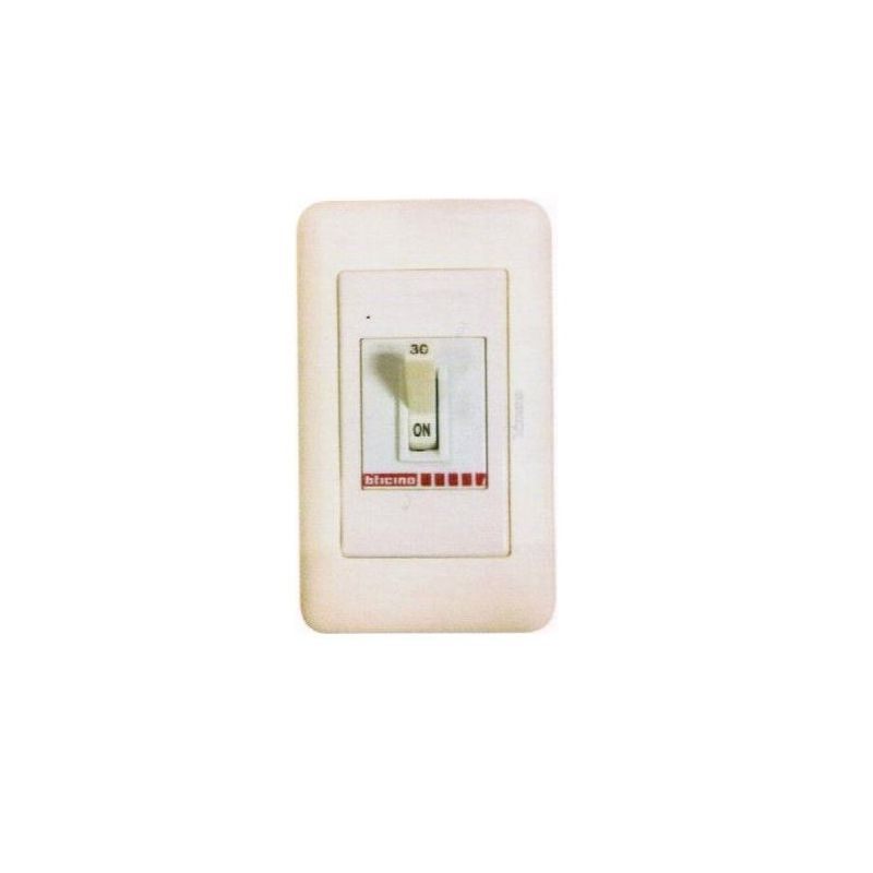 Safety Breaker In Magic Advance Cover Plate  30 A 2P