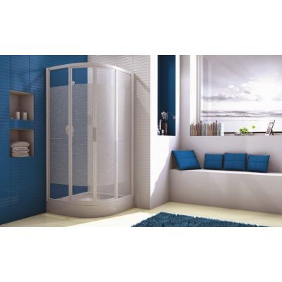 Sliding doors for corner-round Shower-Tray(80*80 cm)