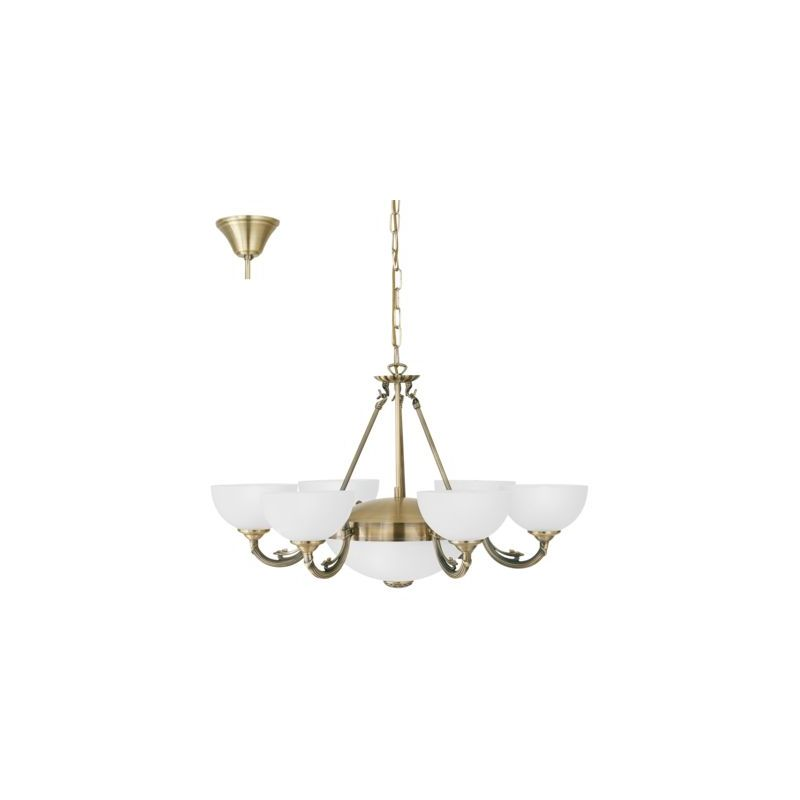Hanging Ceiling Chandelier Eglo Savoy 82749