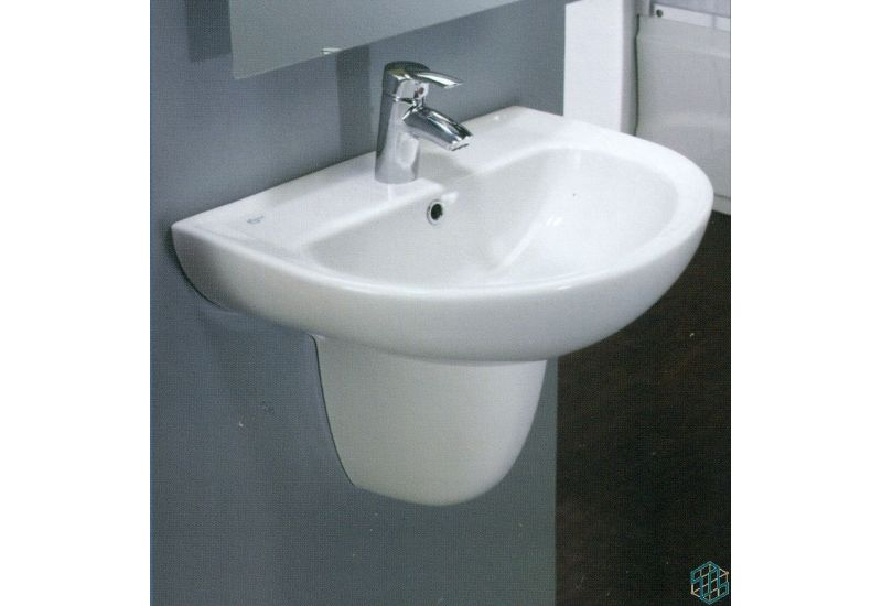 Space Wall Pedestal Basin 60 cm