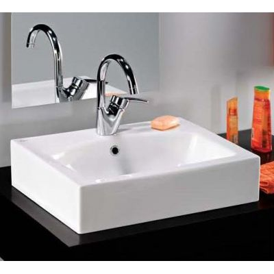 Basin above counter-Plan